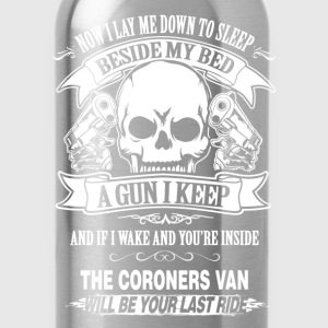 Coroner van will be your last ride - Water Bottle