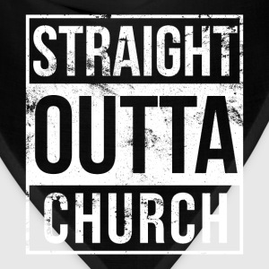 Church - Straight outta church awesome t-shirt - Bandana