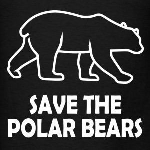 POLAR BEARS10.png Hoodies - Men's T-Shirt