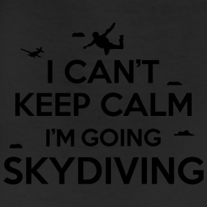 cant keep calm skydiving T-Shirts - Leggings