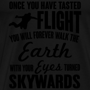 once you've tasted flight Tanks - Men's Premium T-Shirt