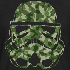Camo Trooper V-NECK SHIRT MAN - Men's Premium Long Sleeve T-Shirt