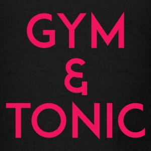 Gym and Tonic Pink Tanks - Men's T-Shirt
