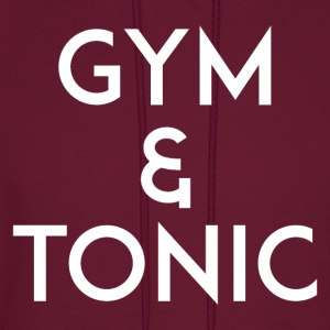 Gym and Tonic White T-Shirts - Men's Hoodie