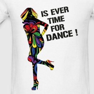 Is Ever Time for dance Rainbow baby body - Men's T-Shirt