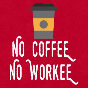 No Coffee No Workee White Mugs & Drinkware - Men's T-Shirt by American Apparel