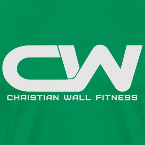 CWF White Logo Hoodies - Men's Premium T-Shirt