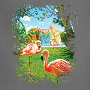 Pink Flamingo Paradise - Adjustable Apron