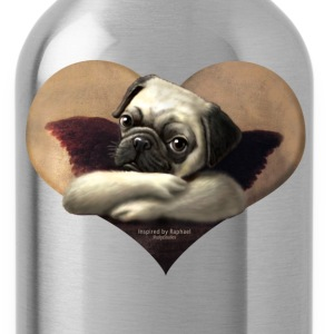 Cherub Pug Angel - Water Bottle