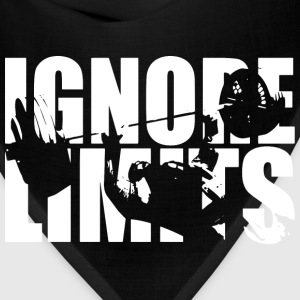 Ignore Limits - Bench Press Workout Motivation Hoodies - Bandana