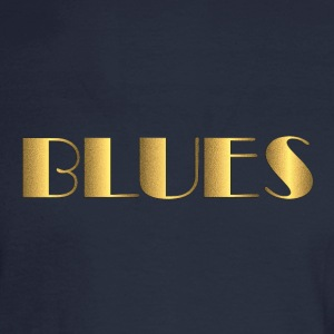 golden blues - Men's Long Sleeve T-Shirt