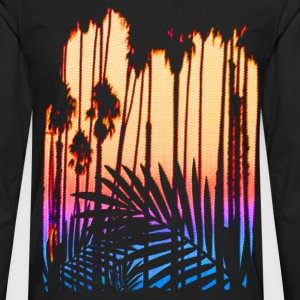 Tropical Paradise Sunset - Men's Premium Long Sleeve T-Shirt
