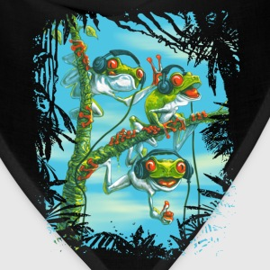 Tree Frog Trio Chillin' - Bandana