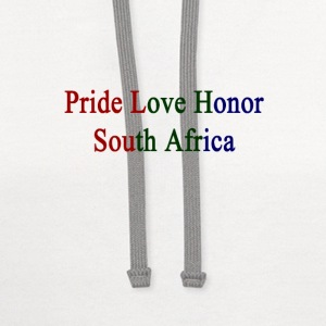 pride_love_honor_south_africa T-Shirts - Contrast Hoodie