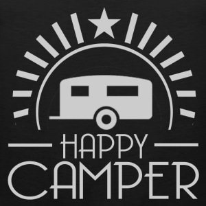 HAPPY CAMPER7.png T-Shirts - Men's Premium Tank