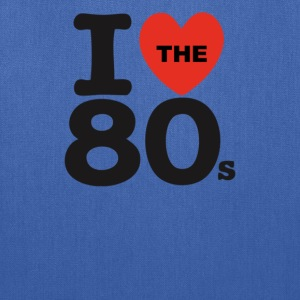 I Love The 80's - Tote Bag