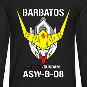 gundam barbatos - Men's Premium Long Sleeve T-Shirt