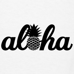 Aloha Hawaï Pineapple Mugs & Drinkware - Men's T-Shirt