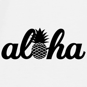Aloha Hawaï Pineapple Mugs & Drinkware - Men's Premium T-Shirt