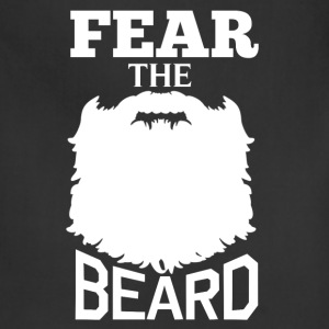Beard - Fear the beard awesome t-shirt - Adjustable Apron