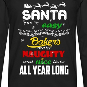 Bakers - Make naughty and nice lists all year long - Men's Premium Long Sleeve T-Shirt