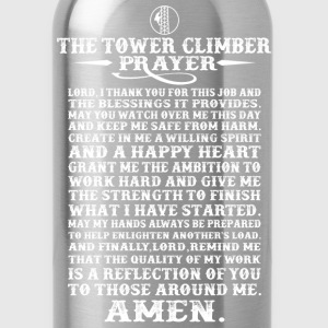The tower climber's prayer - Climbing - Water Bottle