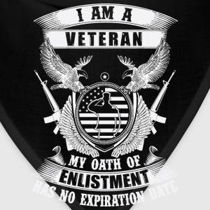 Korea Veteran Oath of enlistment has no expiration - Bandana