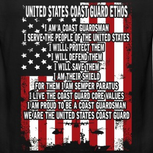 United States Coast guard man - I will save them - Men's Premium Tank