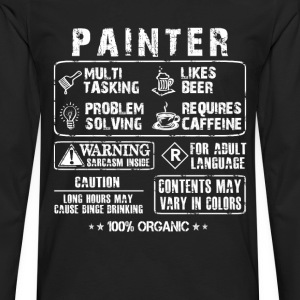 Painter - Multi tasking painter awesome t-shirt - Men's Premium Long Sleeve T-Shirt