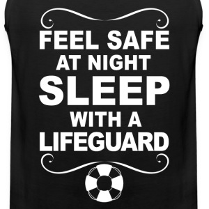 Lifeguard - Sleep with a lifeguard awesome tee - Men's Premium Tank