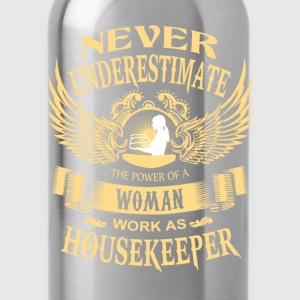 House keeper - Power of a woman house keeper - Water Bottle
