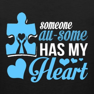 I Love You - Someone awesome has my heart - Men's Premium Tank