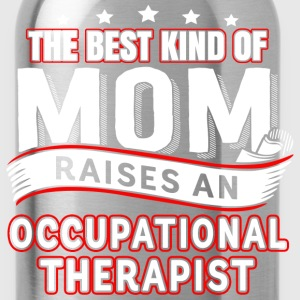 A therapist is raised Occupational Therapist Mom - Water Bottle