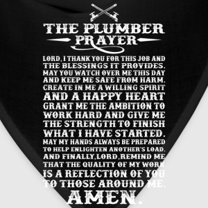 Plumber - The plumber prayer awesome t-shirt - Bandana