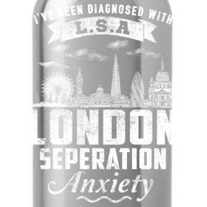 London - London seperation anxiety t-shirt - Water Bottle
