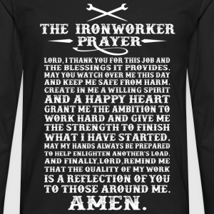 Ironworker - The ironworker prayer awesome t - shi - Men's Premium Long Sleeve T-Shirt