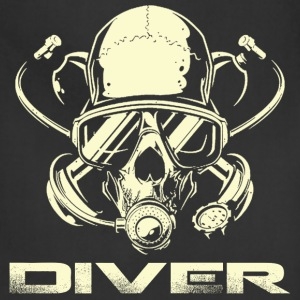 Diver - Awesome t-shirt for diving lovers - Adjustable Apron