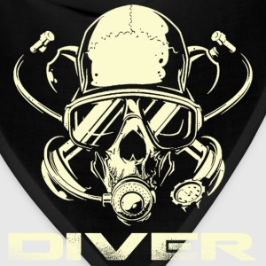 Diver - Awesome t-shirt for diving lovers - Bandana