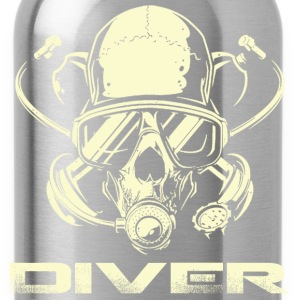 Diver - Awesome t-shirt for diving lovers - Water Bottle