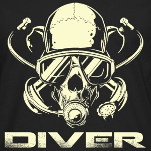 Diver - Awesome t-shirt for diving lovers - Men's Premium Long Sleeve T-Shirt