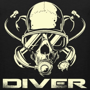 Diver - Awesome t-shirt for diving lovers - Men's Premium Tank