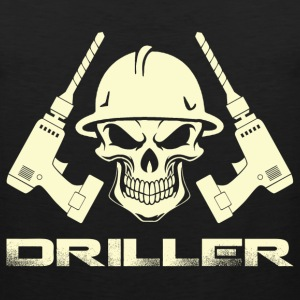 Driller - Awesome drill t-shirt for supporter - Men's Premium Tank