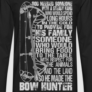 Bow hunter - Awesome bow hunter t-shirt - Men's Premium Long Sleeve T-Shirt
