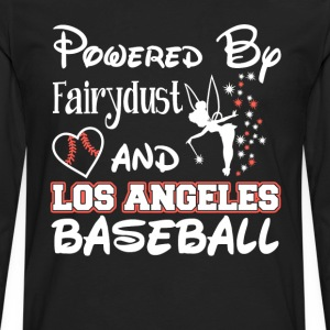 Los Angeles baseball - Powered by fairydust - Men's Premium Long Sleeve T-Shirt