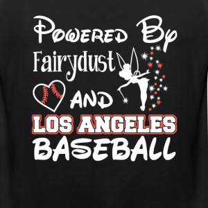 Los Angeles baseball - Powered by fairydust - Men's Premium Tank
