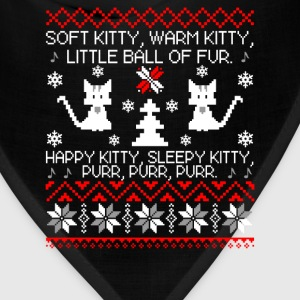 Ugly Christmas sweater for kitty lover - Bandana
