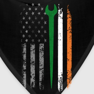 Irish iron worker - Irish flag T - shirt - Bandana