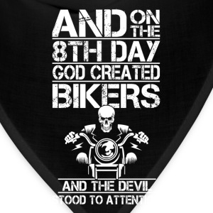 Bikers - The devil stood to attention - Bandana