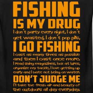 Fishing - I cast as many times as possible - Men's Premium Tank