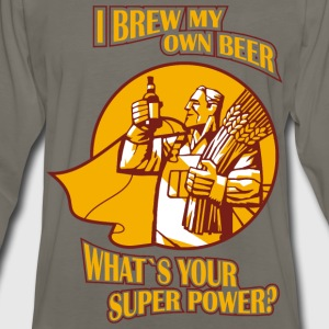 Brew my own beer - What's your superpower? - Men's Premium Long Sleeve T-Shirt